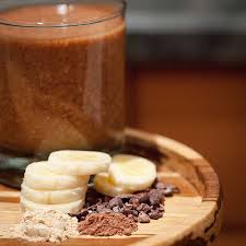 maca and cacao smoothie